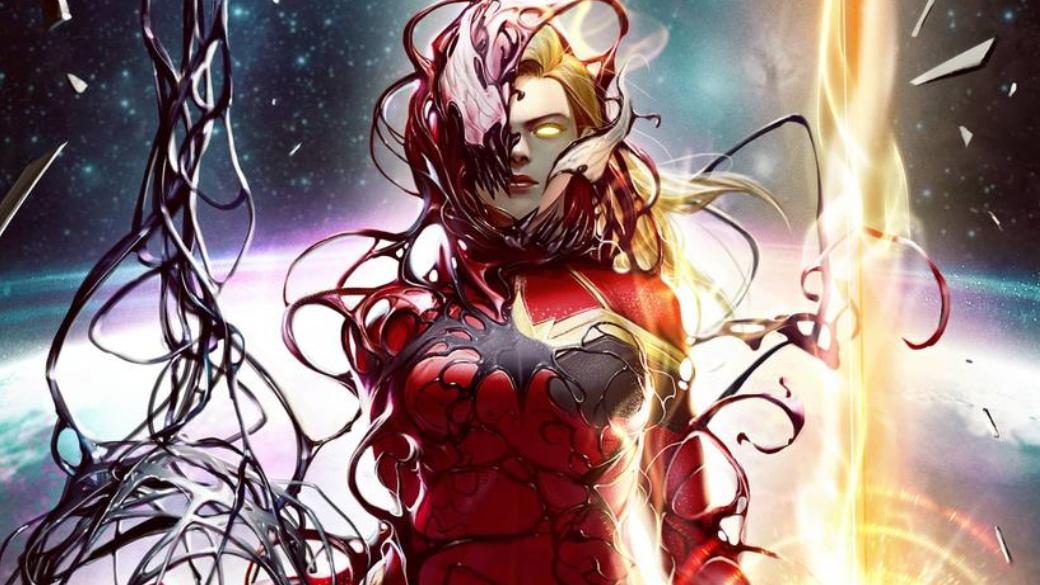 Какбы выглядели Капитан Марвел, Локи идругие герои, еслибы ихподчинил Карнаж? | Канобу - Изображение 1