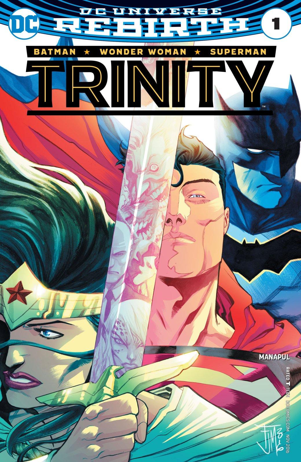 Какие серии DC Rebirth стоит читать? | Канобу - Изображение 6354