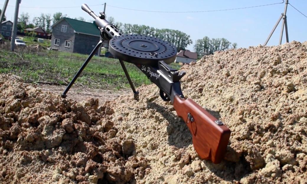 Конкурс к9мая: получи реалистичную модель пулемета Дегтярева! | Канобу