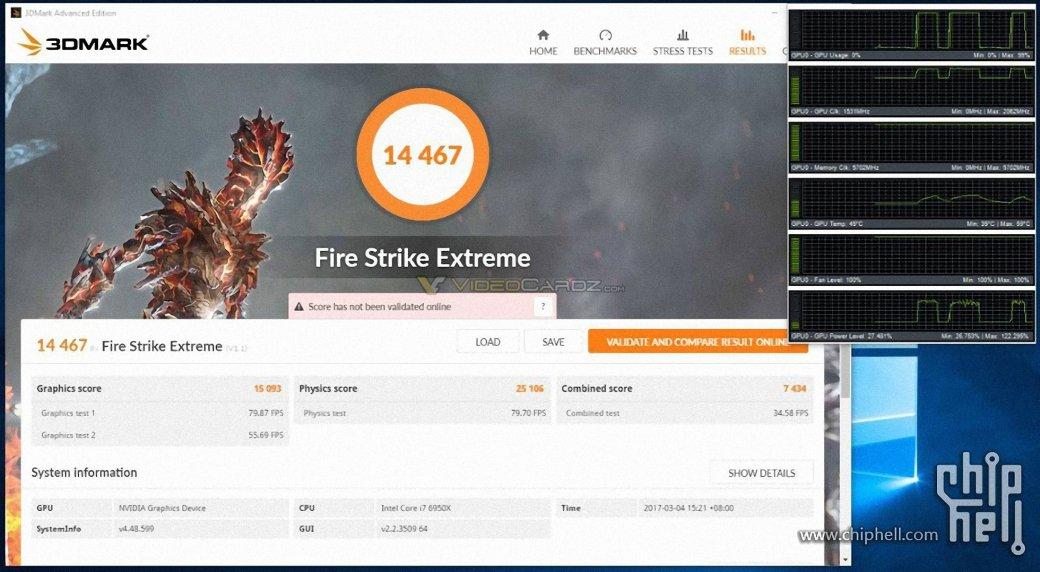 Разогнанный GeForce GTX 1080 Ti прошел первые тесты | Канобу - Изображение 102