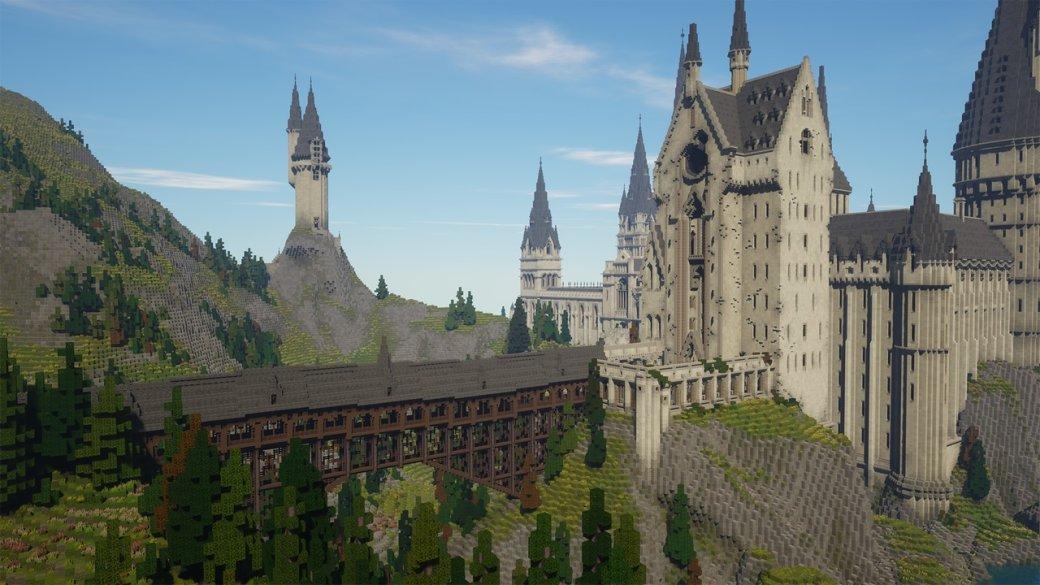 RPG по«Гарри Поттеру» наоснове Minecraft— какие места изкниг ифильмов вней есть? | Канобу - Изображение 800