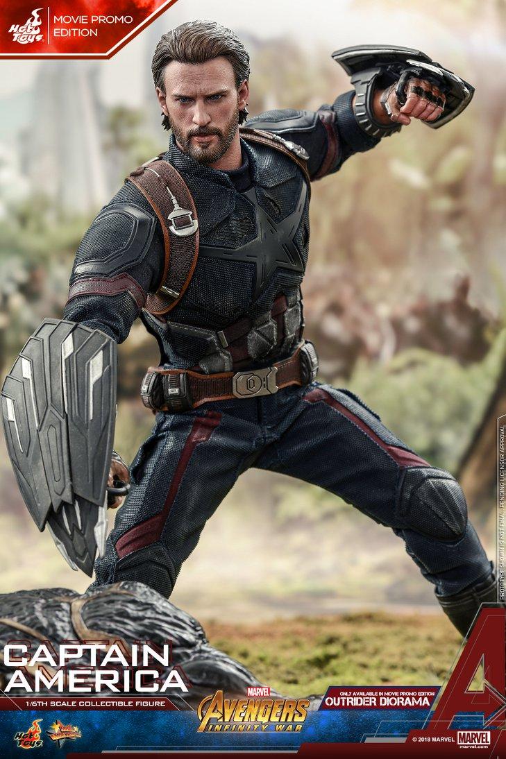 Взгляните нановую фигурку Капитана Америка из«Войны Бесконечности» отHot Toys. - Изображение 7