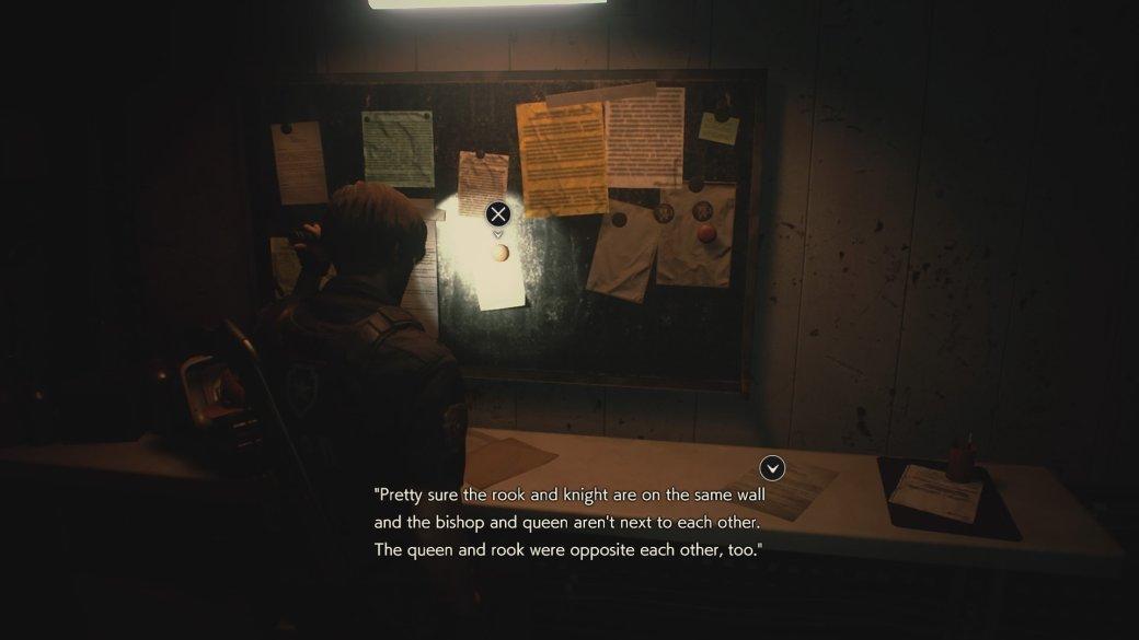 Гайд. Решение всех головоломок вResident Evil 2 Remake | Канобу - Изображение 2501