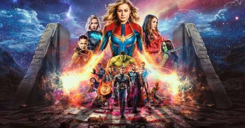 Тор принимает Капитана Марвел вМстители вновом трейлере фильма «Мстители: Финал» | Канобу - Изображение 1