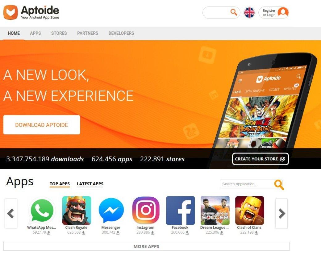 УHuawei есть выход: Aptoide может стать альтернативой Google Play   Канобу - Изображение 9054