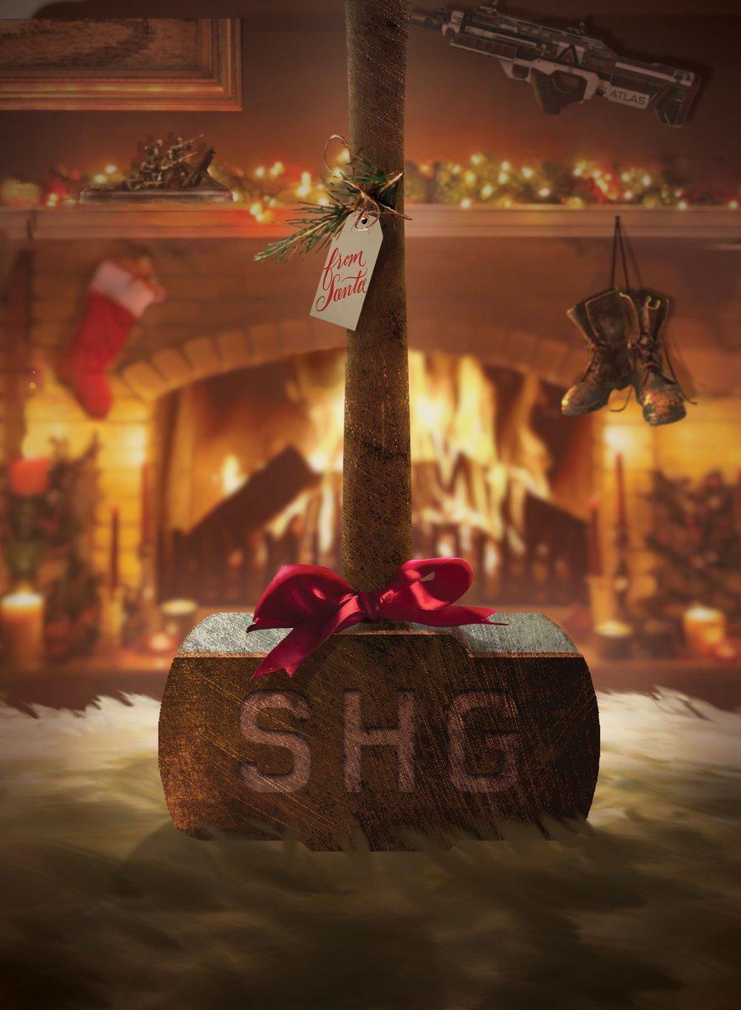 Разработчики поздравляют игроков с Рождеством. Подборка праздничных открыток   Канобу - Изображение 12504