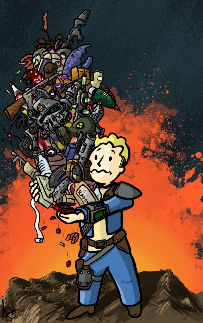 Лучший арт мира Fallout | Канобу - Изображение 59