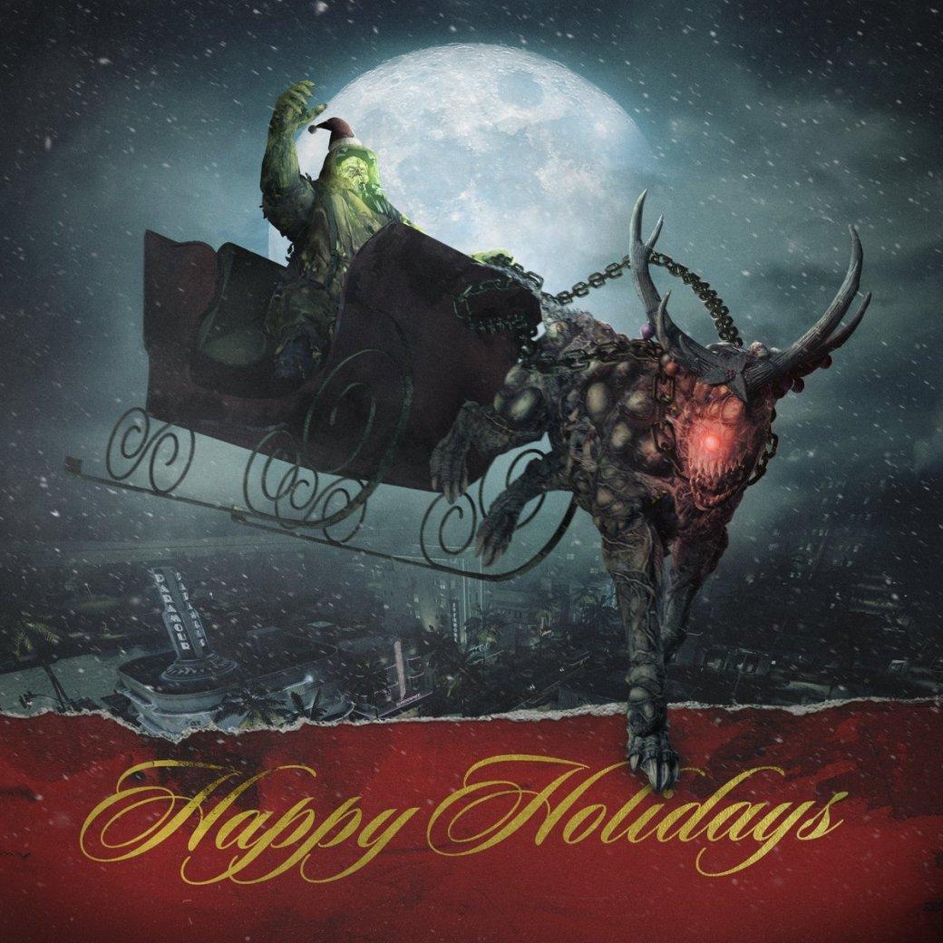 Издатели иразработчики поздравляют игроков сНовым годом иРождеством. Подборка открыток | Канобу - Изображение 6930