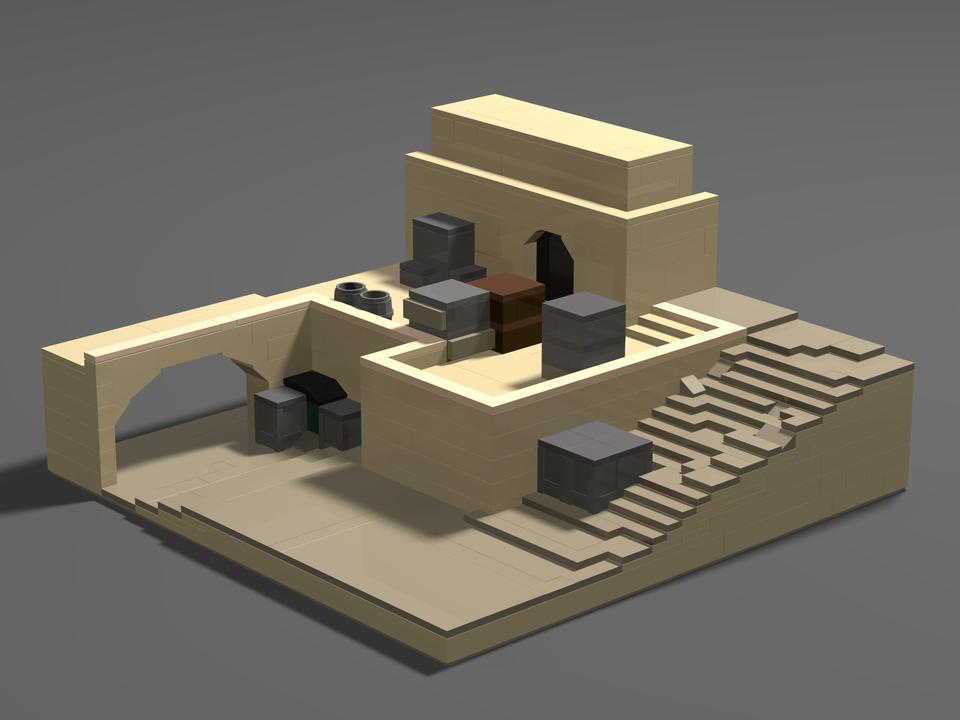 Игроки воссоздали карты из CS:GO с помощью лего и Minecraft | Канобу - Изображение 4