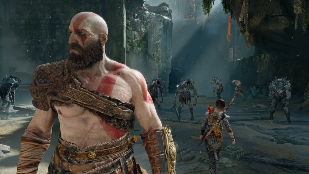 Изначально в God of War Атрей должен был сражаться только по нажатию кнопки | Канобу - Изображение 1
