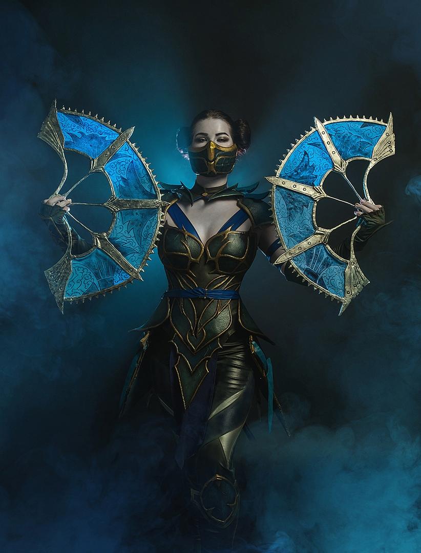 Такая Китана нам нужна! Невероятно крутой косплей принцессы Эдении изMortal Kombat11 | Канобу - Изображение 0