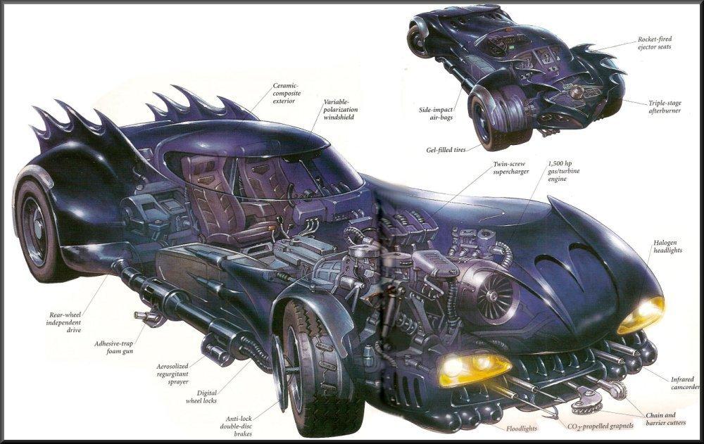 История бэтмобиля: все машины Темного Рыцаря | Канобу - Изображение 5079