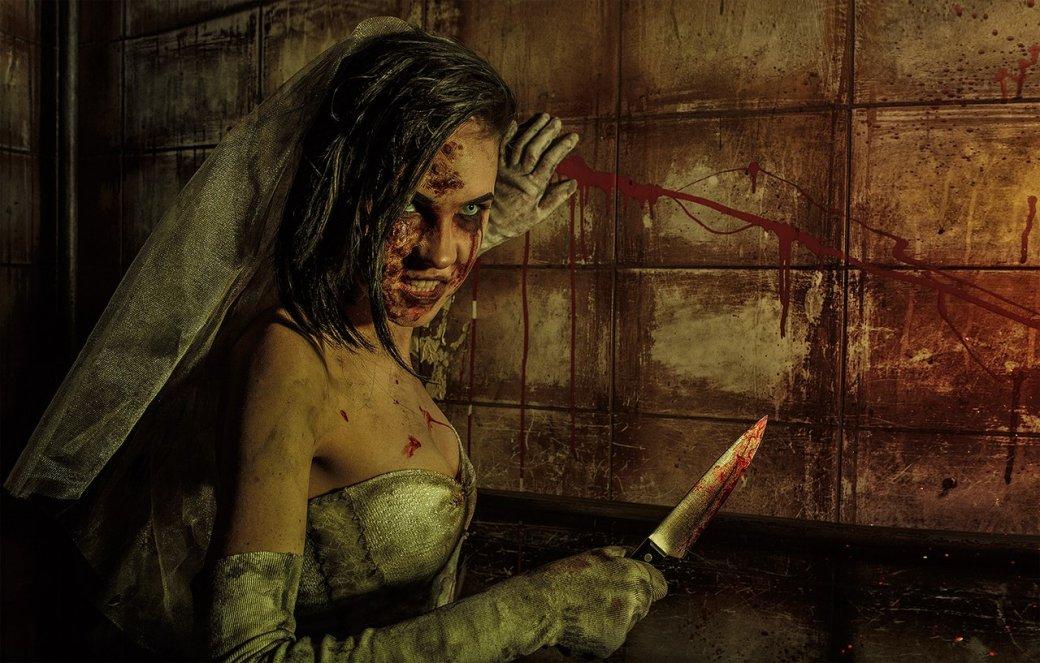 Косплей дня: жуткая невеста из игры Outlast: Whistleblower. - Изображение 5