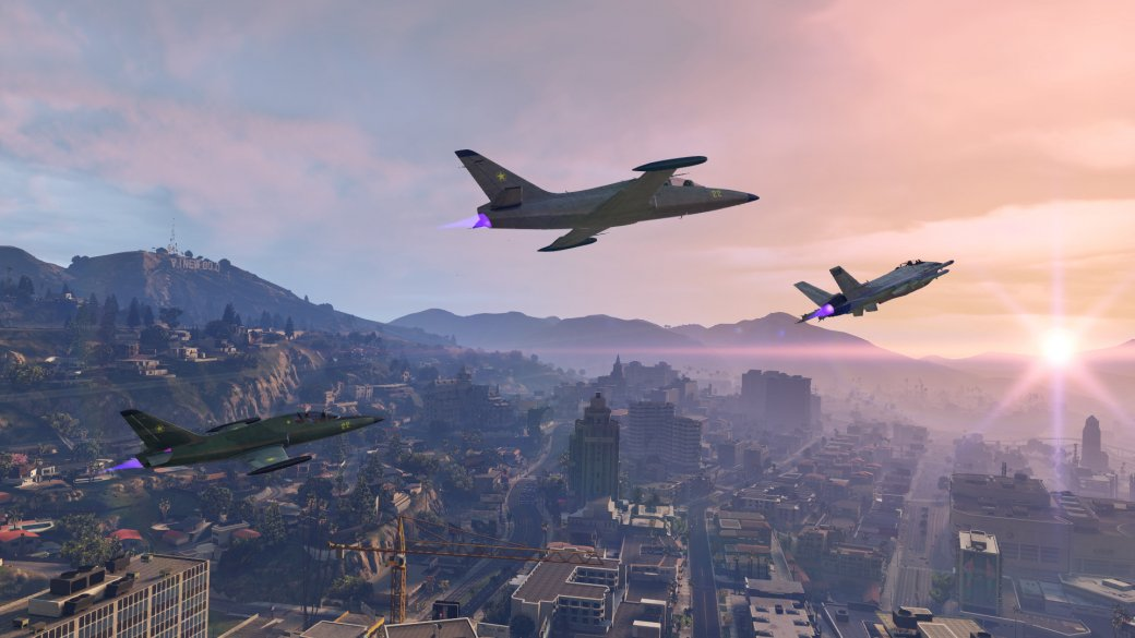 Гифка дня: приземление-полицейский разворот вGrand Theft Auto5 | Канобу - Изображение 1