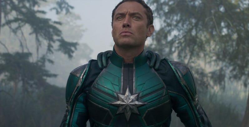 Анонсирована роль Джуда Лоу в «Капитане Марвел» — хотя Marvel и пытается это скрыть! | Канобу - Изображение 1