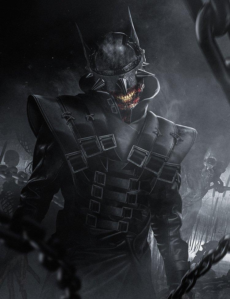 Бэтмен-Джокер изDark Nights: Metal отBosslogic. Выглядит жутко!. - Изображение 1