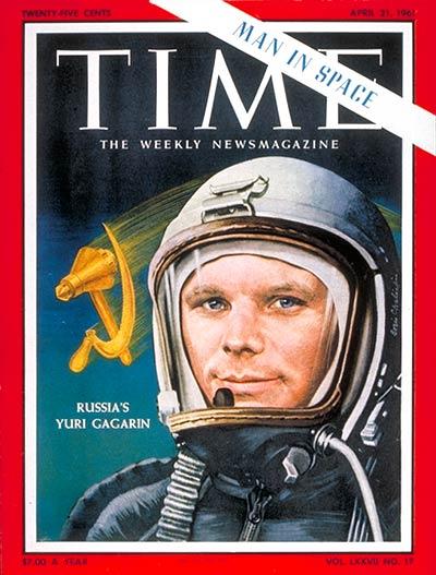 Американские обложки журналов про русских космонавтов | Канобу - Изображение 8