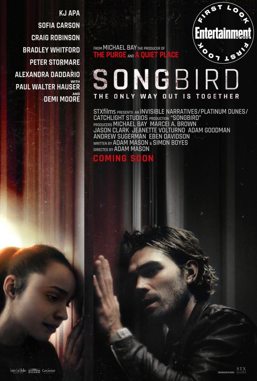 Вышел трейлер фильма «Певчая птица» про мутировавший коронавирус и карантинные зоны