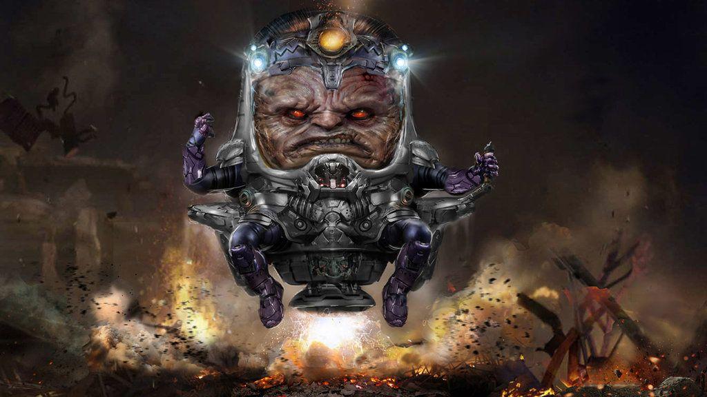 Вотмененном сериале Marvel «Новые воины» был МОДОК. Его играл Кит Дэвид