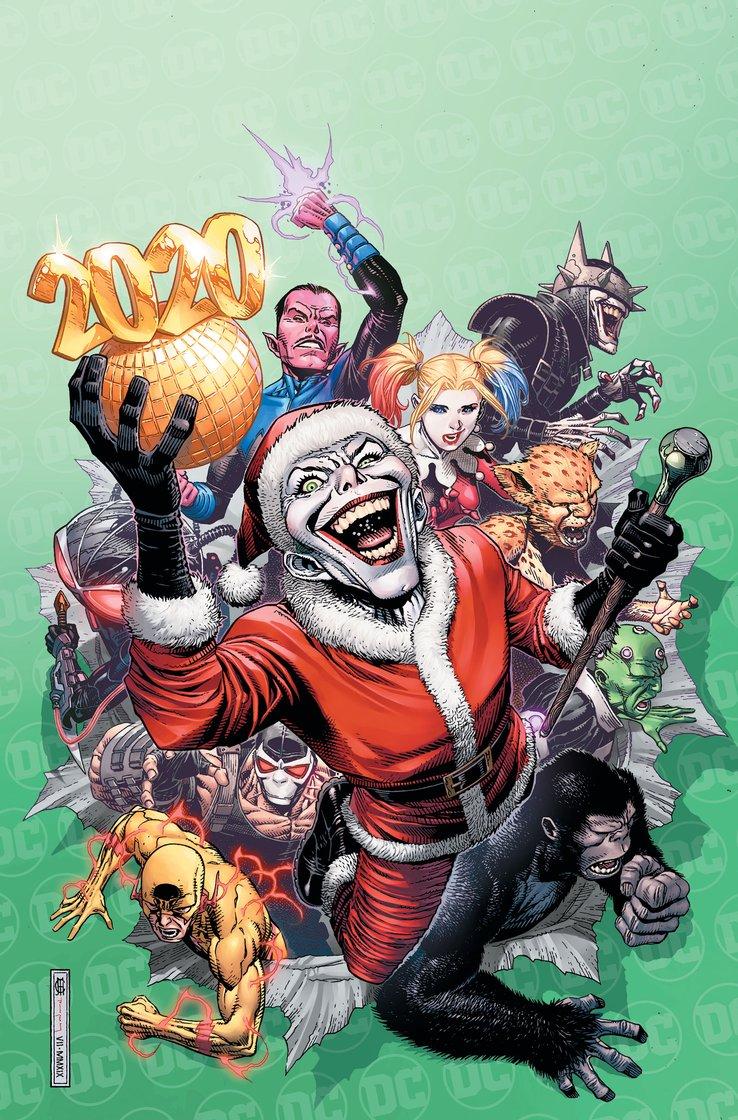 Джокер принесет немного новогоднегозла. Праздничную антологию DCпосвятят злодеям   Канобу - Изображение 1