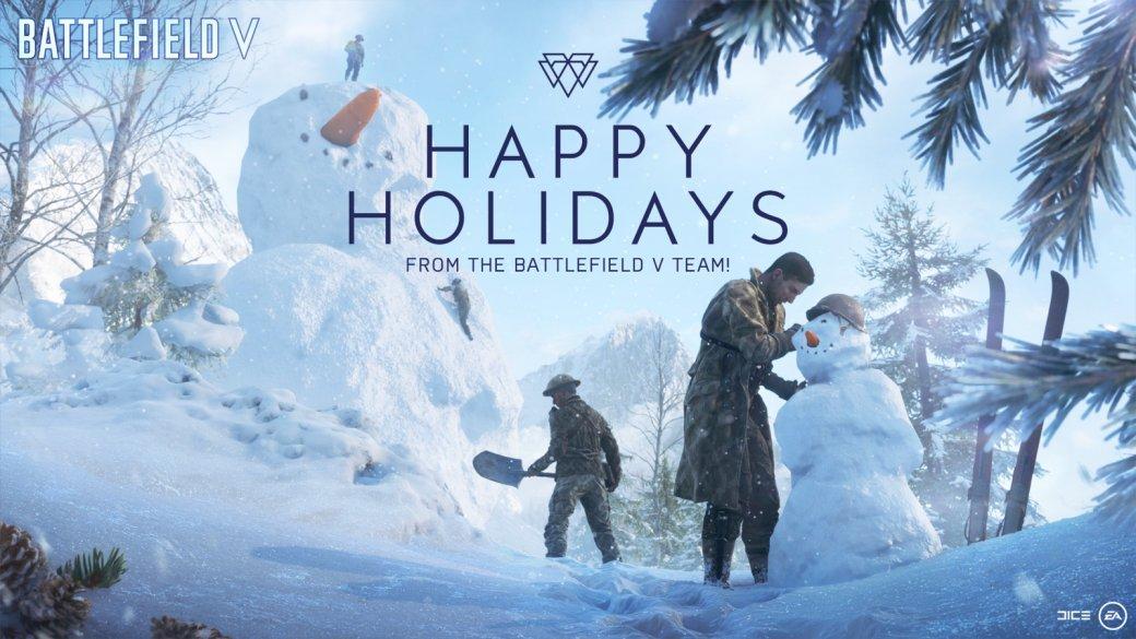 Разработчики поздравляют игроков с Рождеством. Подборка праздничных открыток   Канобу - Изображение 12489