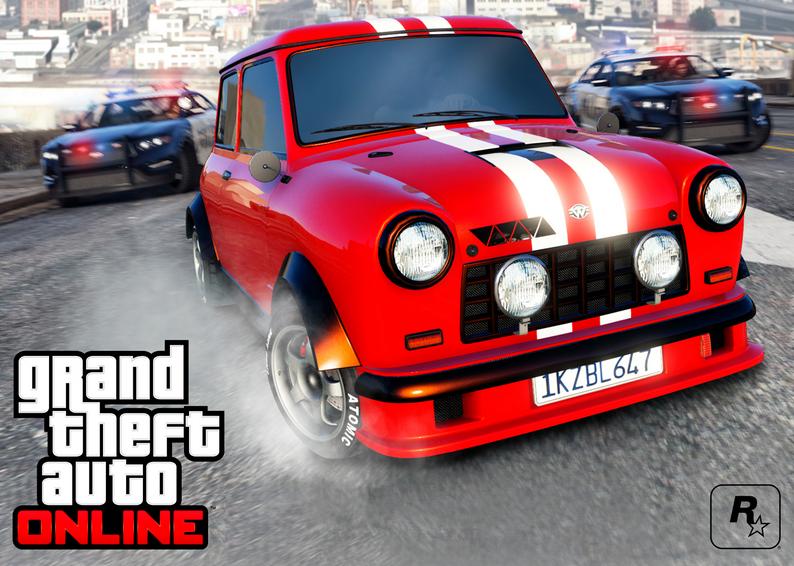 В GTA Online появился новый режим с преследованием на автомобилях  | Канобу - Изображение 1