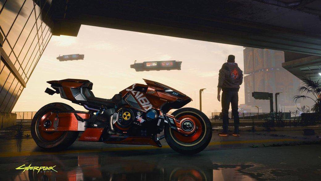 Мотоцикл инаноудавка нановых скриншотах Cyberpunk 2077 | Канобу - Изображение 3