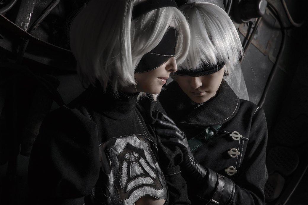 Девушки изобразили 2B и 9S в крутом косплее по Nier: Automata  | Канобу - Изображение 2