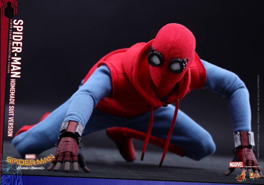 Маска человек паук возвращение домой
