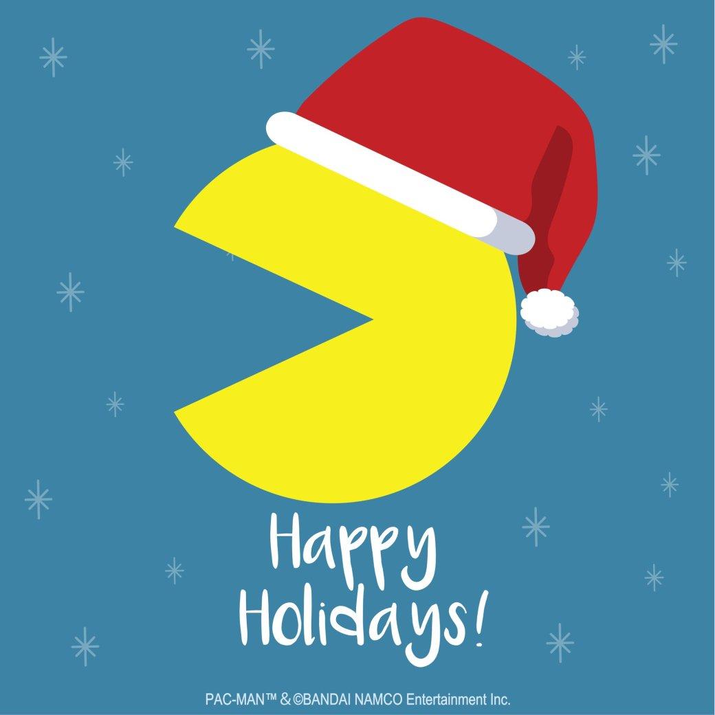 Разработчики поздравляют игроков с Рождеством. Подборка праздничных открыток   Канобу - Изображение 12506