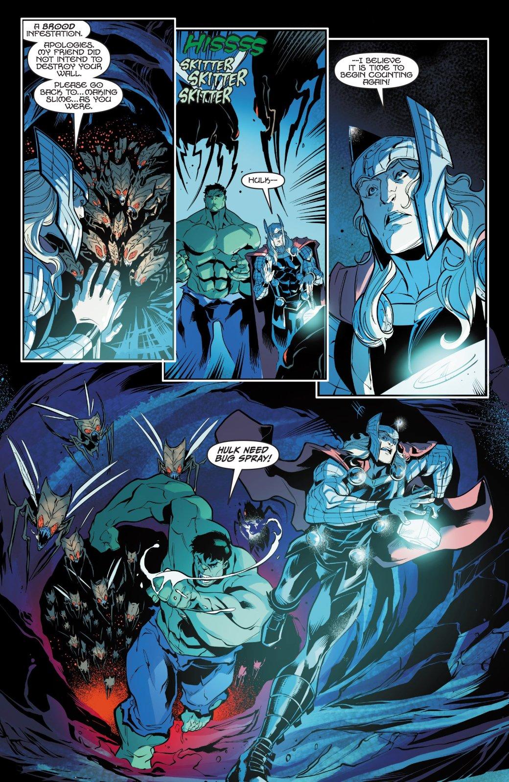 Скем изачем сражаются Тор иХалк вновом комиксе Marvel?. - Изображение 3